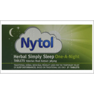 Nytol Herbal Simply Sleep One-A-Night Tablets. 21 Tablets.