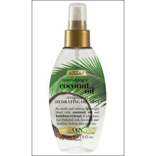 OGX Nourishing Coconut Oil. Weightless Oil Mist. 118ml.