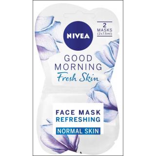 Nivea Good Morning Fresh Skin Mask. Normal Skin. 2 Masks In Sachet.