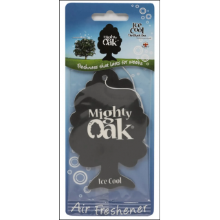 Mighty Oak Car Air Freshener. Ice Cool Scent.