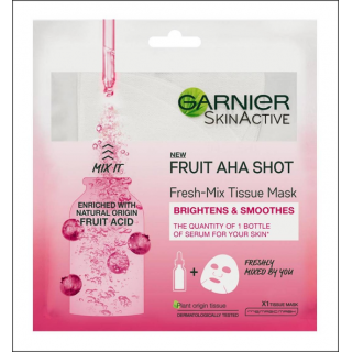 Garnier SkinActive Fruit Aha Shot Mask. 1 Sachet.