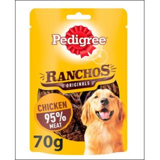 Pedigree Ranchos Original. Rich In Chicken. 70g.