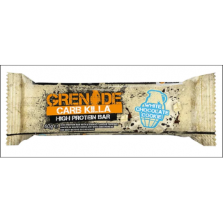 Grenade Carb Killa Protein Bar. White Chocolate Cookie.