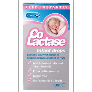 Co Lactase Infant Drops. Lactase Enzyme Drops. 60 Servings.