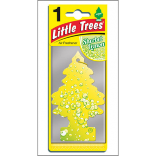 Little Trees Car Air Freshener. Sherbert Lemon Fragrance.