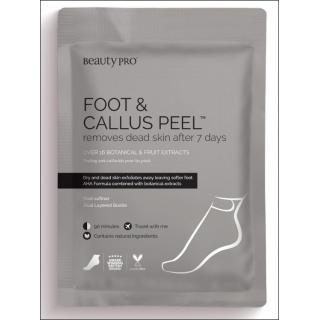 Beauty Pro Foot & Callus Peel. 7 Day Treatment. 1 Pair.