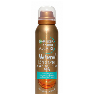 Garnier Ambre Solaire Natural Bronzer. Dark. 150ml.