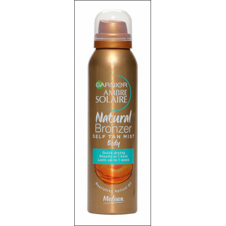 Garnier Ambre Solaire Natural Bronzer. Medium. 150ml.