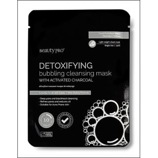 Beauty Pro Detoxifying Bubbling Cleansing Mask. 1 Sachet.