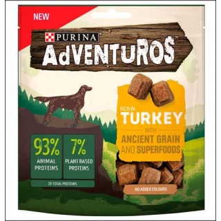 Purina Adventuros Dog Food. Rich In Turkey. 120g.