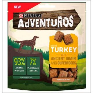 Purina Adventuros Dog Food. Rich In Turkey. 120g.