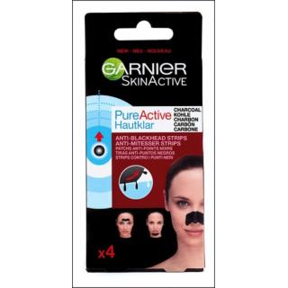 Garnier SkinActive Anti-Blackhead Strips. 4 Pack.