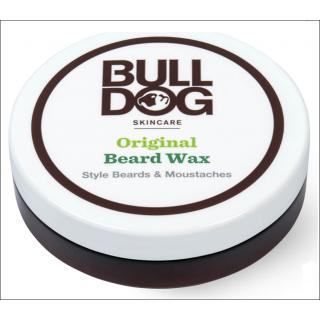 Bull Dog Original Beard Wax. Styles Beards & Moustaches. 50g.