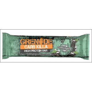 Grenade Carb Killa Protein Bar. Dark Chocolate Mint.