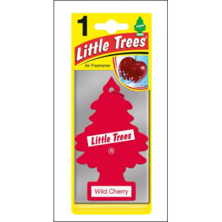 Little Trees Car Air Freshener. Wild Cherry Fragrance.