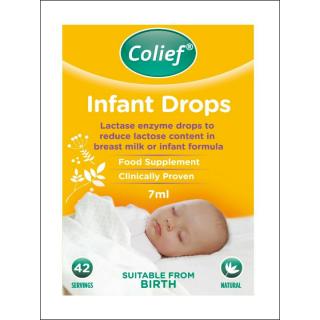 Colief Infant Drops. Lactase Enzyme Drops. 42 Servings.