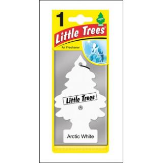 Little Trees Car Air Freshener. Arctic White Fragrance.