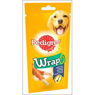 Pedigree Wrap Dog Treats. 50g.