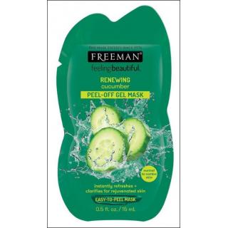 Freeman Feeling Beautiful Renewing Cucumber Mask. 1 Sachet.