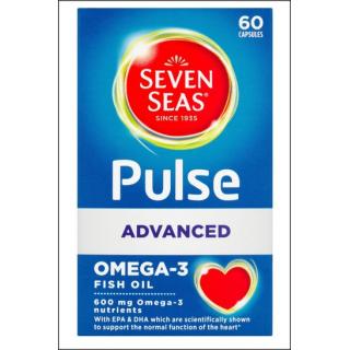 Seven Seas Pulse Advanced Omega-3 Fish Oil. 60 Capsules.