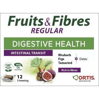 Ortis Fruits & Fibres Digestive Health Supplement.