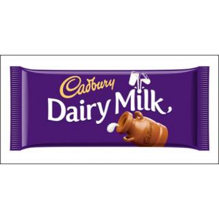 Cadbury Dairy Milk Chocolate. Large Bar. 200g.
