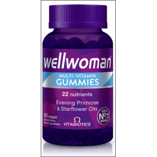 Vitabiotics Wellwoman Multi-Vitamins.in Gummies. 22 Nutrients. 60 Vegan Gummies.