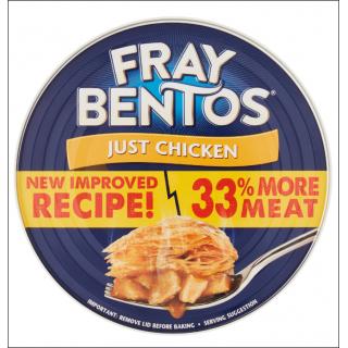 Fray Bentos Just Chicken Pie. New Improved Recipe. 425g.