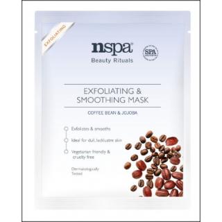 NSPA Exfoliating & Smoothing Mask. Coffee Bean & Jojoba. 1 Sachet.
