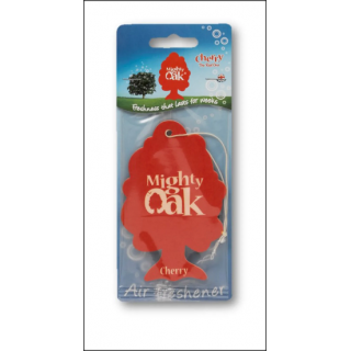 Mighty Oak Car Air Freshener. Cherry Scent.