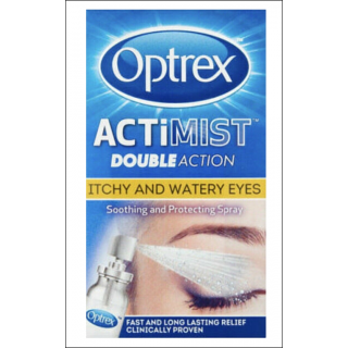 Optrex Actimist Double Action. Itchy & Watery Eyes. 10ml.