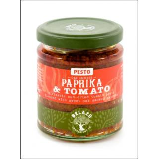 Pesto Paprika & Tomato. Tomato Paste With Oak Smoked Paprika. 165g.