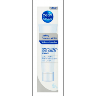 Pearl Drops Lasting Flawless White Toothpaste. 75ml.