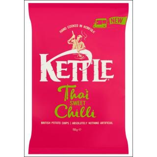 Kettle Thai Sweet Chilli Crisps. 150g.