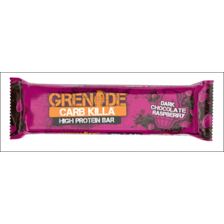 Grenade Carb Killa Protein Bar. Dark Chocolate Raspberry.