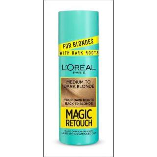 L'Oreal Magic Retouch Spray. Medium - Dark Blonde. 75ml.