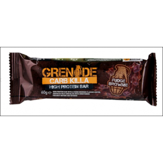 Grenade Carb Killa Protein Bar. Fudge Brownie.