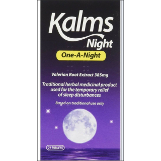 Kalms Night One-A-Day Herbal Sleeping Product. 21 Tablets.