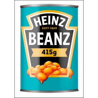 Heinz Baked Beans In Tomato Sauce. 415g Tin.
