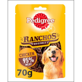 Pedigree Ranchos Original. Rich In Chicken. 70g.