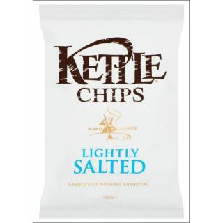 Kettle Lightly Salted Crisps. 150g.