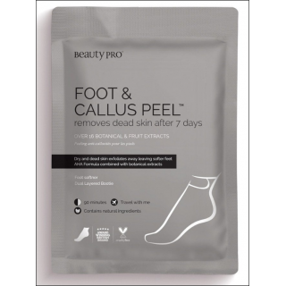Beauty Pro Foot & Callus Peel. 7 Day Treatment. 1 Pair.