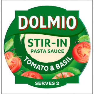 Dolmio Stir-In Pasta Sauce. Tomato & Basil. 150g.