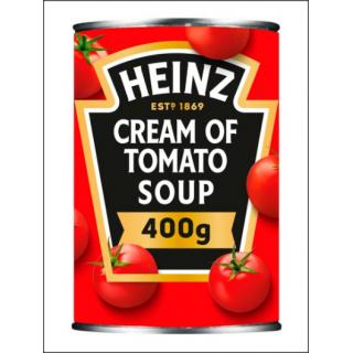 Heinz Cream Of Tomato Soup. 400g Tin.