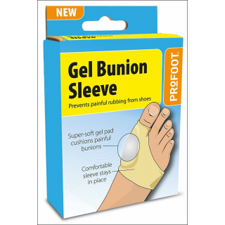 Profoot Gel Bunion Sleeve. Prevents Painful Rubbing.