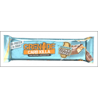 Grenade Carb Killa Protein Bar. Choc Chip Cookie Dough.
