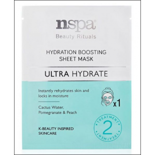 NSPA Beauty Rituals Hydration Boosting Sheet Mask. 2 Treatments.