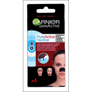 Garnier SkinActive Anti-Blackhead Strips. 4 Pack.