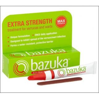 Bazuka Extra Strength Gel For Verrucas & Warts.