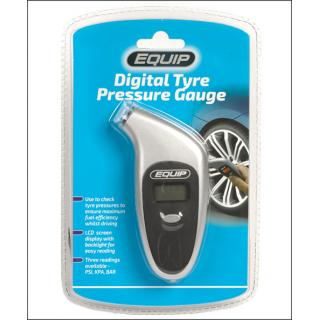 Equip Digital Tyre Pressure Gauge.